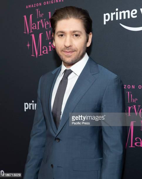 Michael Zegen attends The Marvelous Mrs. Maisel season 3 TV show premiere at MoMA.