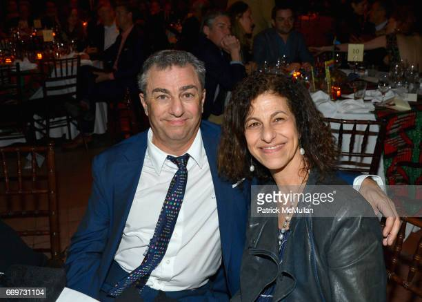 Michael Zilkha and Nadia Zilkha attend The Turtle Conservancy's 4th Annual Turtle Ball at The Bowery Hotel on April 17 2017 in New York City