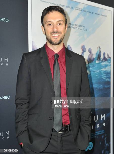 Michael Zimbalist attends HBO's Momentum Generation Premiere at The Broad Stage on November 05 2018 in Santa Monica California