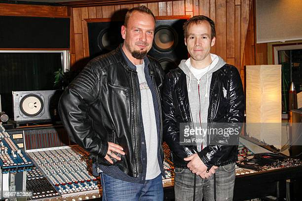 Michael Zimmerling and Luke Wood attend the Beats by Dr Dre Sound Symposium on March 18 2015 in Berlin Germany