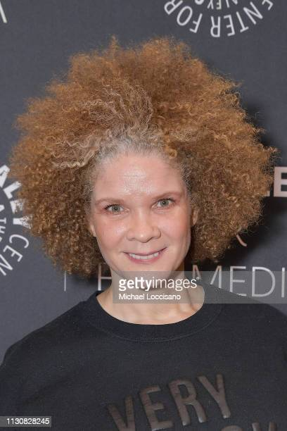 Michaela Angela Davis attends the 'American Soul' screening and conversation at the Paley Center For Media on February 19 2019 in New York City