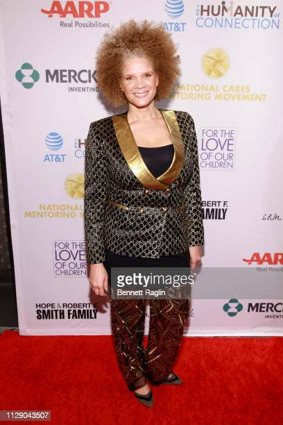 Michaela Angela Davis attends the National CARES Mentoring Movement 4th Annual For The Love Of Our Children Gala at The Ziegfeld Ballroom on February...