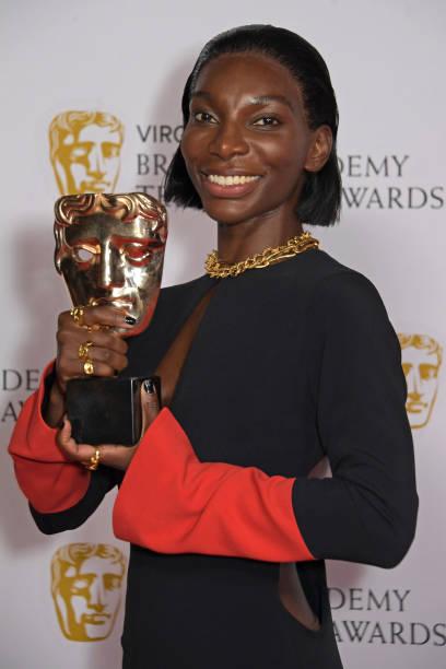 GBR: Virgin Media British Academy Television Awards 2021 - Winners Room