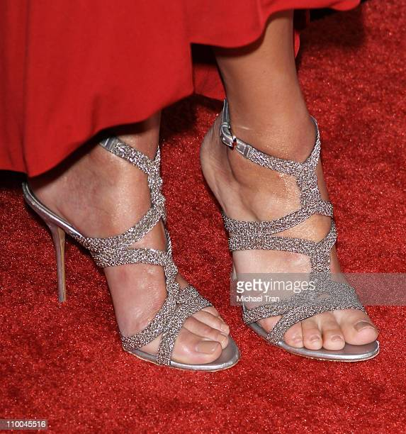Michaela Conlin arrives at a special screening of The Lincoln Lawyer held at ArcLight Hollywood on March 10 2011 in Hollywood California