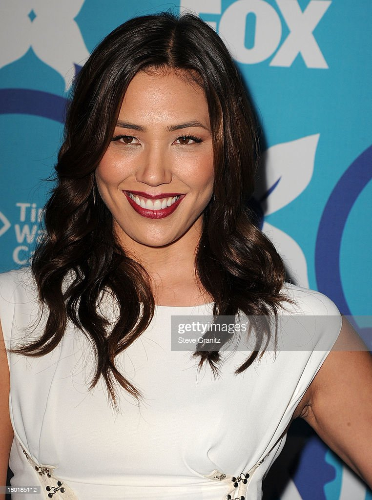Michaela Conlin arrives at the 2013 Fox Fall Eco-Casino Party at The Bungalow on September 9, 2013 in Santa Monica, California.