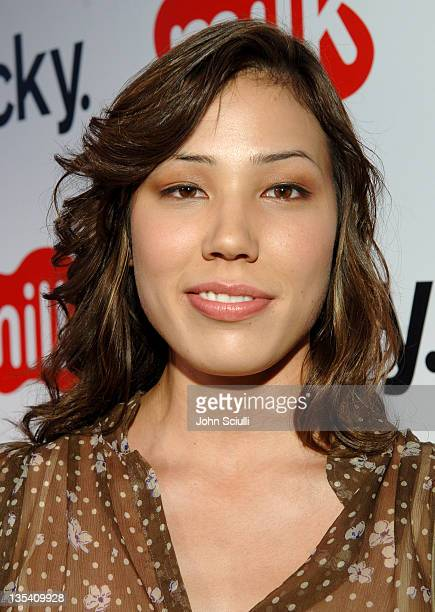 Michaela Conlin during Lucky Magazine Hosts Party to Celebrate LA Shopping Guide at Milk Boutique at Milk Boutique in Los Angeles California United...