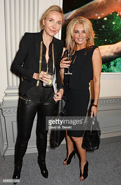 Michaela de Pury and Claire Caudwell attends the book launch and private view of Mary McCartney Monochrome And Colour curated by De Pury De Pury on...