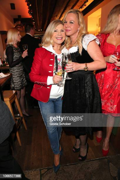 Michaela Hartl Birgit FischerHoeper during the Christmas Charity Dinner hosted by StefanMross AnnaCarinaWoitschack and Connections PR for the benefit...