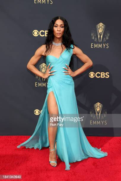 Michaela Jaé Rodriguez attends the 73rd Primetime Emmy Awards at L.A. LIVE on September 19, 2021 in Los Angeles, California.