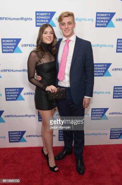 Michaela Kennedy Cuomo and guest attend Robert F Kennedy Human Rights Hosts Annual Ripple Of Hope Awards Dinner on December 13 2017 in New York City