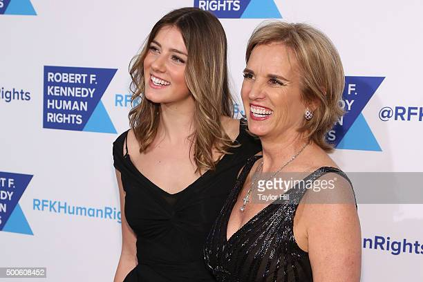 Michaela Kennedy Cuomo and Kerry Kennedy attend as Robert F Kennedy Human Rights hosts The 2015 Ripple Of Hope Awards honoring Congressman John Lewis...