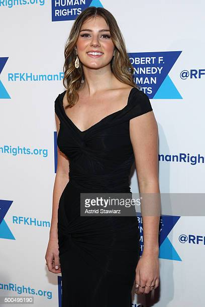 Michaela Kennedy Cuomo attends as Robert F Kennedy Human Rights hosts The 2015 Ripple Of Hope Awards honoring Congressman John Lewis Apple CEO Tim...