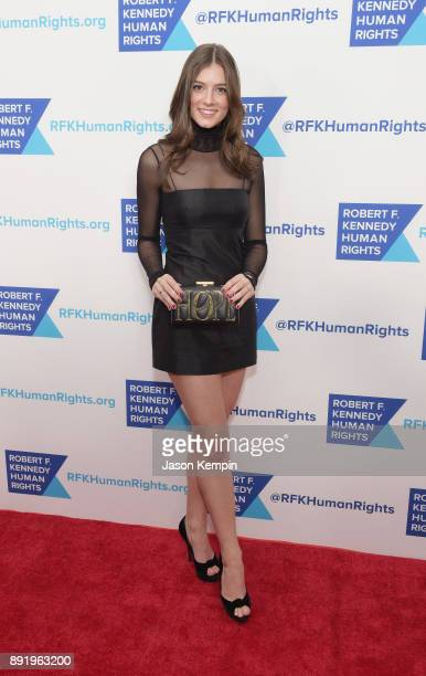 Michaela Kennedy Cuomo attends Robert F Kennedy Human Rights Hosts Annual Ripple Of Hope Awards Dinner on December 13 2017 in New York City