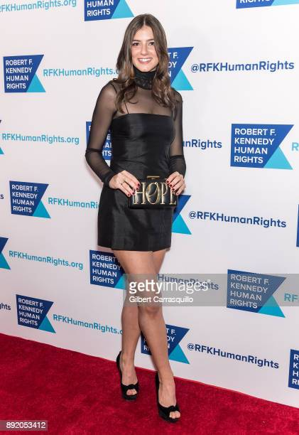 Michaela Kennedy Cuomo attends Robert F Kennedy Human Rights Hosts Annual Ripple Of Hope Awards Dinner at New York Hilton on December 13 2017 in New...