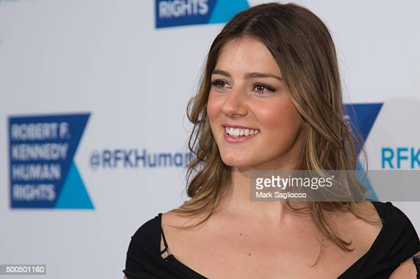 Michaela Kennedy Cuomo attends the Robert F Kennedy Human Rights 2015 Ripple Of Hope Awards at New York Hilton Midtown on December 8 2015 in New York...