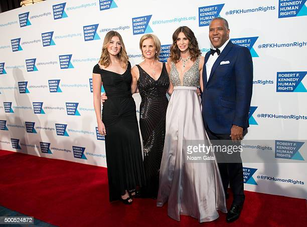 Michaela Kennedy Cuomo Kerry Kennedy Hope Dworaczyk Smith and Robert Smith attend the Robert F Kennedy human rights 2015 Ripple of Hope awards at New...