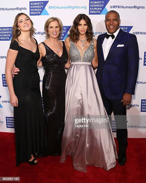 Michaela Kennedy Cuomo Kerry Kennedy Hope Dworaczyk Smith and Robert Smith attend as Robert F Kennedy Human Rights hosts The 2015 Ripple Of Hope...
