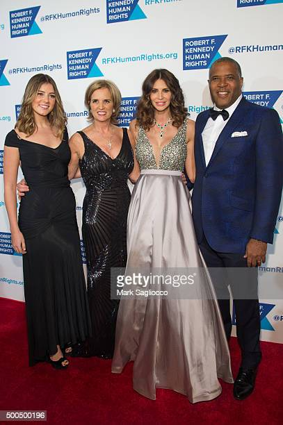 Michaela Kennedy Cuomo Kerry Kennedy Hope Smith and Robert Smith attend the Robert F Kennedy Human Rights 2015 Ripple Of Hope Awards at New York...