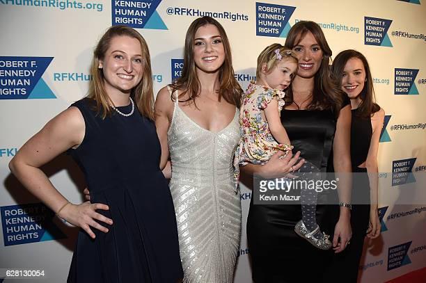 Michaela Kennedy Cuomo Mariah Kennedy Cuomo and Kick Kennedy attend RFK Human Rights' Ripple of Hope Awards Honoring VP Joe Biden Howard Schultz...