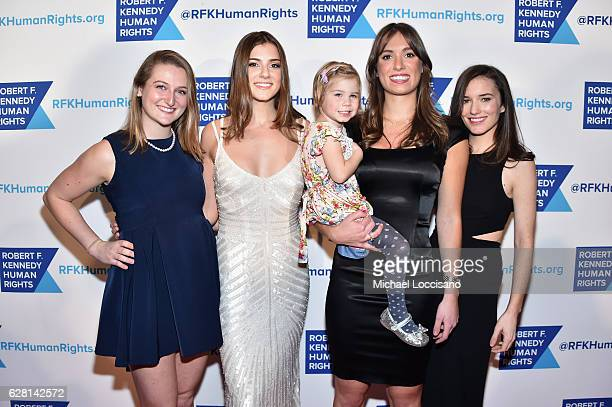 Michaela Kennedy Cuomo Mariah Kennedy Cuomo and Kick Kennedy attend RFK Human Rights' Ripple of Hope Awards Honoring VP Joe Biden Howard Schultz...