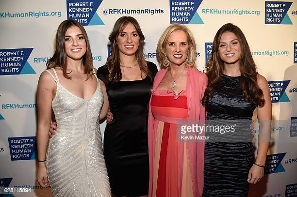 Michaela Kennedy Cuomo Mariah Kennedy Cuomo Kerry Kennedy and Kick Kennedy attend RFK Human Rights' Ripple of Hope Awards Honoring VP Joe Biden...