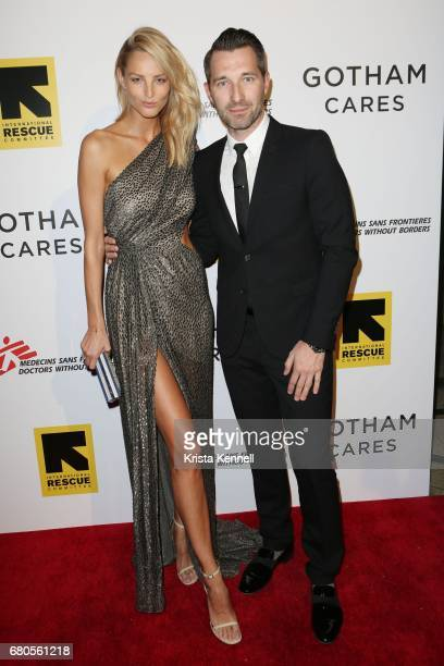 Michaela Kocianova attends Gotham Cares hosts Inaugural Gala Fundraiser for the Syrian Humanitarian Crisis to benefit the International Rescue...