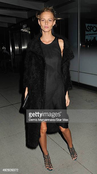 Michaela Kocianova is seen on October 15 2015 in New York City