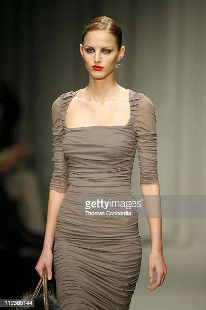 Michaela Kocianova wearing Maurizio Pecoraro Fall/Winter 2007