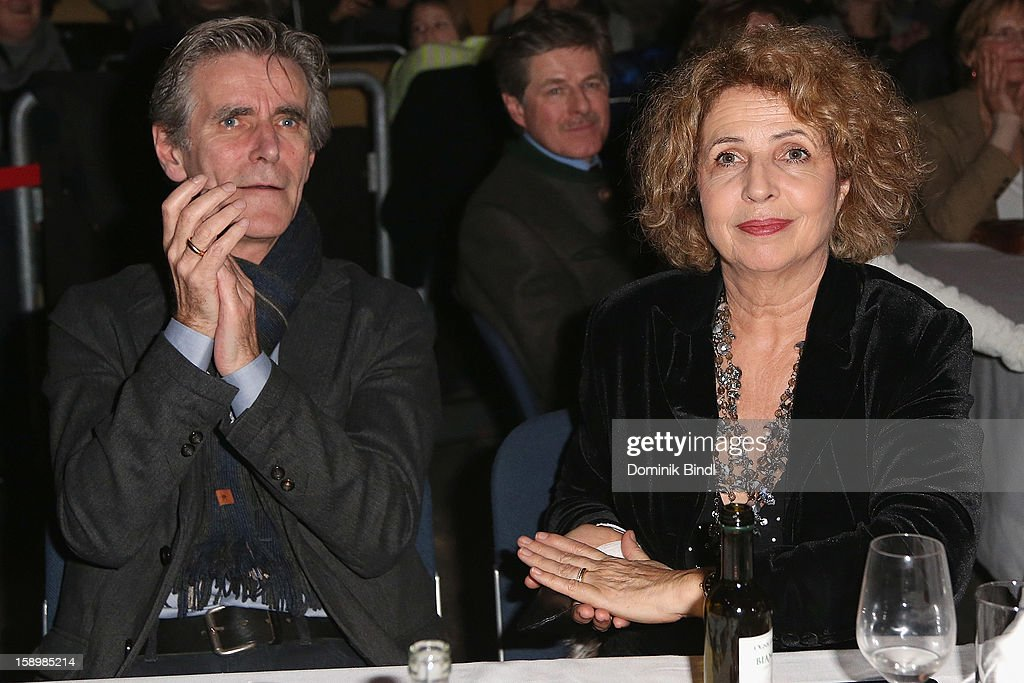 Michaela May and Bernd Schadewald attend the show 10 years of Appassionata - Friends Forever on January 4, 2013 in Munich, Germany.