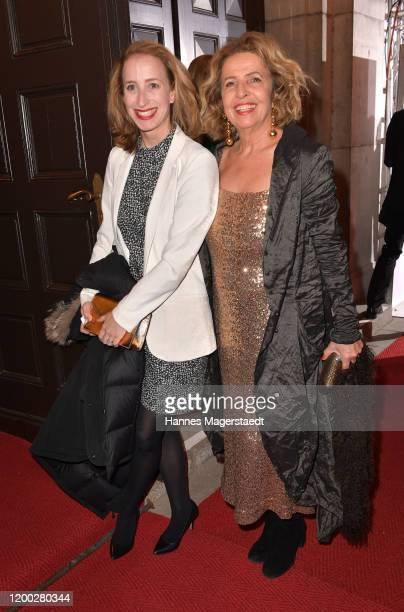 Michaela May and her daughter Lilian Schiffer attend the Bayerischer Filmpreis 2020 at Prinzregententheater on January 17 2020 in Munich Germany