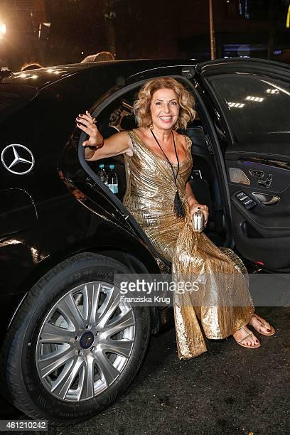 Michaela May arrives at the Bambi Awards 2014 on November 13, 2014 in Berlin, Germany.