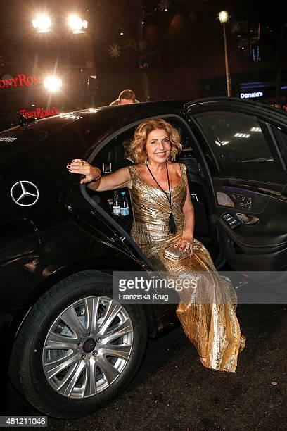 Michaela May arrives at the Bambi Awards 2014 on November 13 2014 in Berlin Germany