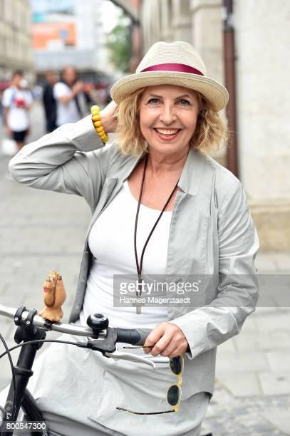 Michaela May attends the Sommerfest der Agenturen during Munich Film Festival 2017 at H'ugo's on June 24 2017 in Munich Germany