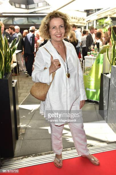 Michaela May attends the 'Sommerfest der Agenturen' during Munich Film Festival 2018 at Hugo's on June 30 2018 in Munich Germany