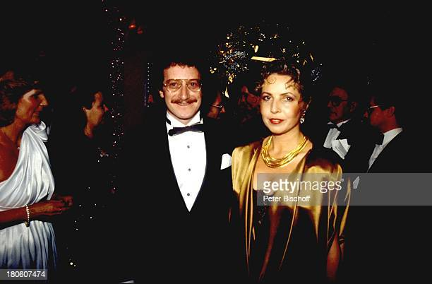 Michaela May, Dr. Jack Schiffer, , Filmball 1985, A, dah,