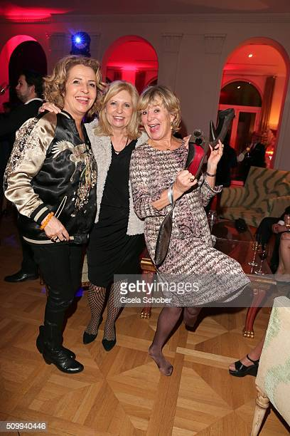 Michaela May, Sabine Postel and Jutta Speidel during the Bunte and BMW Festival Night 2016 during the 66th Berlinale International Film Festival...