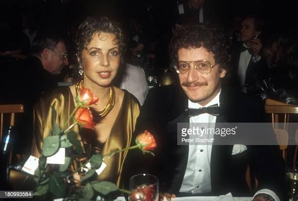 Michaela May und Ehemann Dr Jack Schiffer Deutscher Filmball 1985 München Bayern Deutschland Europa Hotel Bayerischer Hof dah