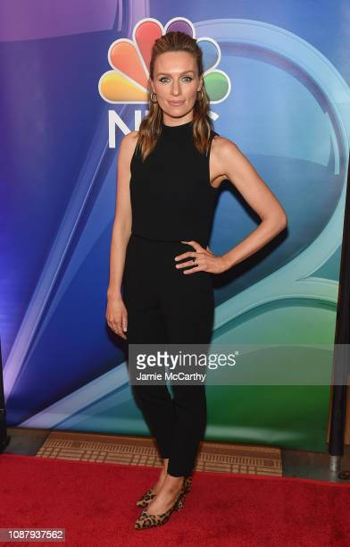 Michaela McManus attends NBC's New York Mid Season Press Junket at Four Seasons Hotel New York on January 24, 2019 in New York City.