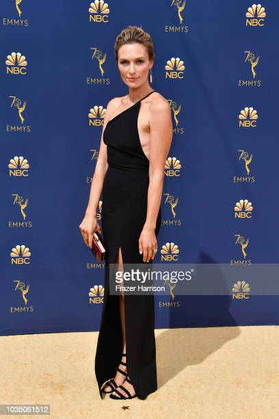 Michaela McManus attends the 70th Emmy Awards at Microsoft Theater on September 17 2018 in Los Angeles California