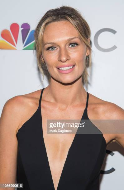 Michaela McManus attends the NBC and The Cinema Society Party for the casts of NBC's 2018-2019 Season at the Four Seasons Restaurant on September 20,...