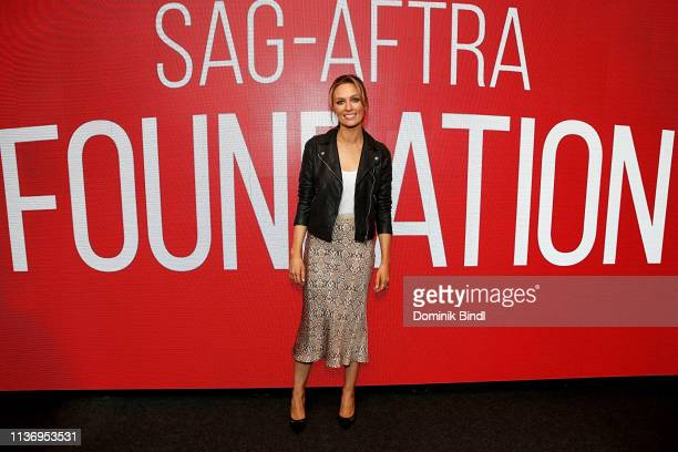 Michaela McManus attends the SAGAFTRA Foundation Conversations 'The Village' at The Robin Williams Center on March 19 2019 in New York City