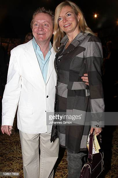 Michaela Merten and husband Pierre Franckh attend the 'Magnifico' Premiere on February 8 2011 in Munich Germany