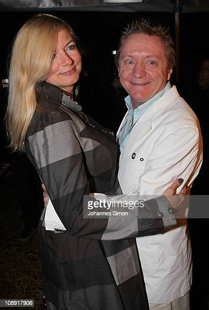 Michaela Merten and Pierre Franckh attend the 'Magnifico' Premiere on February 8 2011 in Munich Germany