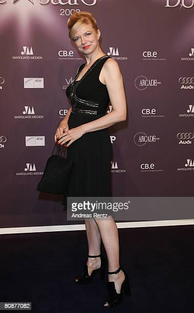 Michaela Merten attends the 'Duftstars' Award 2008 at the 'The Station' on April 26, 2008 in Berlin, Germany.