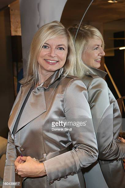 Michaela Merten attends the opening of the Roche Bobois shop on January 31 2013 in Munich Germany