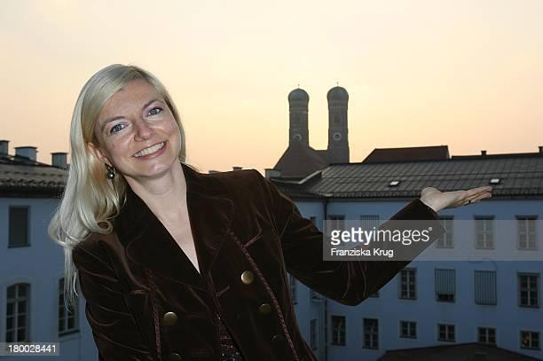 Michaela Merten Bei Dem Ndf Empfang After Work 2007 Im Hotel 8Seasons Am In München 140307