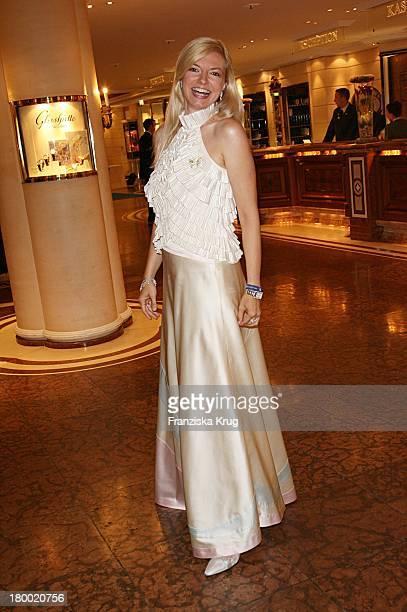 Michaela Merten Bei Der United People Charity Night2006 Zugunsten PowerChild Im Hotel Bayrischen Hof In München