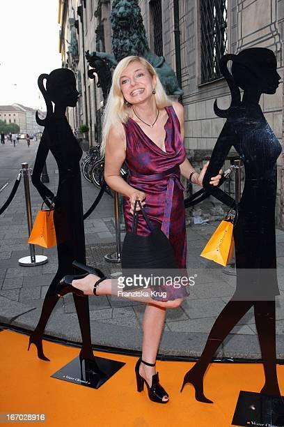 """Michaela Merten Beim """"Prix Veuve Clicquot Für Die Unternehmerin Des Jahres 2008"""" In Der Residenz In München ."""