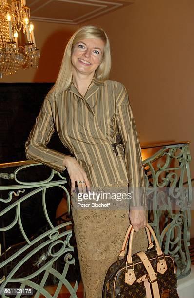 """Michaela Merten, """"Christina Duxa Couture Ladies Lunch"""" zugunsten der Stiftung """"Deutsche Schlaganfall-Hilfe"""", """"Hotel Bayerischer Hof"""", Königsaal,..."""