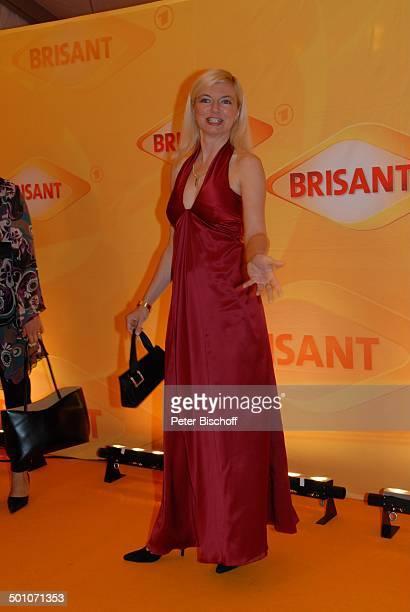 Michaela Merten MDR Brisant Brillant 2007 Verleihung München Bayern Deutschland Europa Preis Auszeichnung roter Teppich Schauspielerin Promi TP FTP...